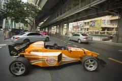 THAILAND BANGKOK SIAM SQUARE RACING CAR Stock Images