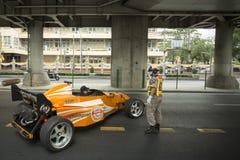 THAILAND BANGKOK SIAM SQUARE RACING CAR Royalty Free Stock Photos