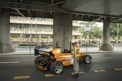 THAILAND BANGKOK SIAM SQUARE RACING CAR Stock Photo