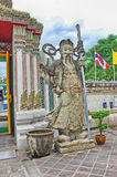 Thailand Bangkok tempel av vilaBuddha (Wat Pho) arkivbild