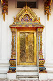 Thailand Bangkok Temple Door Royalty Free Stock Images