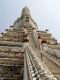 Thailand Bangkok - Up the steps. Scene's and attractions around Bangkok, Thailand Stock Photos