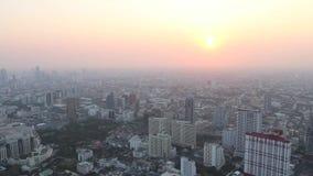 Thailand : Bangkok. View of the Bangkok, Thailand stock video
