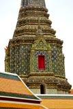 thailand Bangkok w religii mozaice Zdjęcie Royalty Free