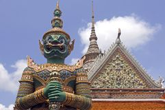 Thailand, Bangkok: Wat arun temple Royalty Free Stock Photos