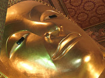Thailand, Bangkok: Wat Pho temple Stock Image