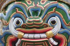 Thailand Bangkok Wat Phra Kaew Royalty-vrije Stock Afbeelding
