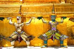 Thailand Bangkok Wat Phra Kaew Stock Photo