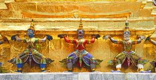 Thailand Bangkok Wat Phra Kaew Stock Photos