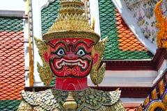 Thailand Bangkok Wat Phra Kaew Stock Image