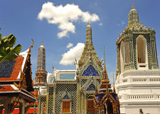 Thailand Bangkok Wat Phra Kaew Royalty Free Stock Photography
