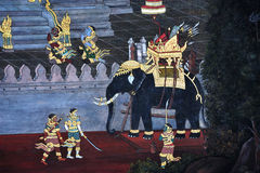Thailand Bangkok Wat Phra Kaew Royalty Free Stock Image