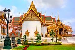 Thailand, Bangkok, Wat Phra Kaew, The royal grand palace Stock Image