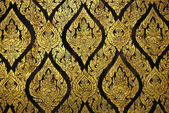 Thailand Bangkok Wat Rachanada's  detail decor Royalty Free Stock Image