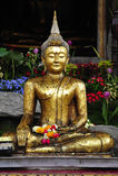 Thailand Bangkok Wat Suthat Stock Photography