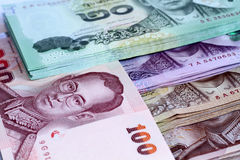 Thailand bank note. Selective focus point Royalty Free Stock Photography