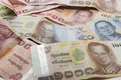 Thailand banknotes Royalty Free Stock Photography