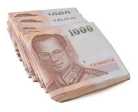 Thailand banknotes Royalty Free Stock Image