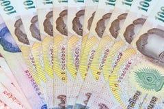 Thailand bath the basic monetary unit of Thailand. Royalty Free Stock Photos