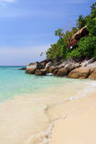Thailand beach coast of Andaman Royalty Free Stock Photos