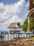 Thailand beach hut Royalty Free Stock Photos