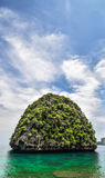 Thailand Beach Temple Rocks Krabi Royalty Free Stock Photo