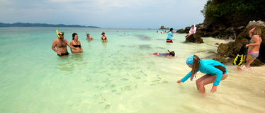 Thailand Beach Vacation Royalty Free Stock Image