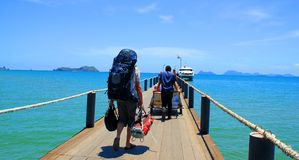 Backpacker Stock Images