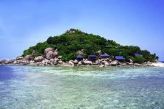Thailand. Beautiful Island. Relaxation Royalty Free Stock Photos