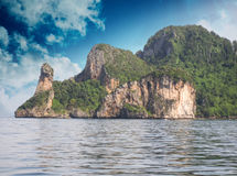 Thailand. Beautiful nature and vegetation of Chicken Island Royalty Free Stock Photo