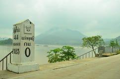 Thailand,The beauty of Kaeng kud koo. The beayty of Kaeng kud koo is Mae Kong river from Chaing Khan in Thailand Royalty Free Stock Photos