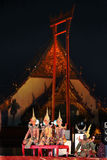 Thailand berömmar Arkivfoton