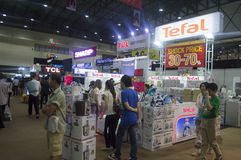Thailand best shopping fair 2015 Stock Image