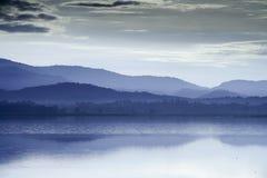 Thailand bij het meer stock fotografie