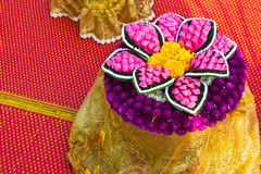 Thailand-Blume. Lizenzfreies Stockbild