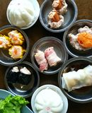 Thailand breakfast. Breakfast in southern of thailand dim sum Royalty Free Stock Photography