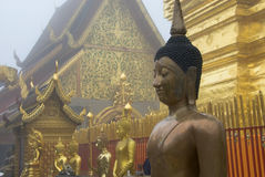 Thailand Buddha at Doi Suthep Royalty Free Stock Image