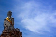 Thailand Buddha. The old city in  Ayataya Stock Photo