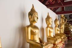 Thailand Buddha. The old city in  Ayataya Stock Photography