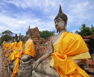 Thailand Buddha Sculpture Royalty Free Stock Photo