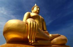 Thailand Buddha staty Arkivbilder
