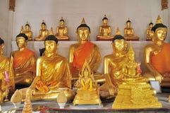 Thailand Buddha staty Fotografering för Bildbyråer