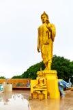 thailand Buddhastaty i Koh Samui _ Religion Resor Royaltyfria Foton