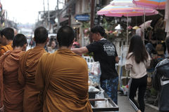 Thailand-Buddhist Stockfotografie