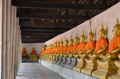 Thailand-Buddhist-Stadt Stockbild