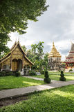 Thailand Buddhist temples Royalty Free Stock Photos