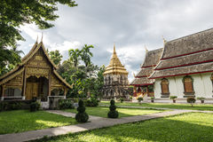 Thailand Buddhist temples Royalty Free Stock Image
