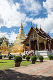 Thailand Buddhist temples Stock Image