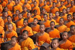 Thailand, Buddhists, Monks, And Royalty Free Stock Photo
