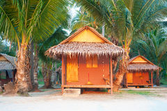 Thailand bungalow for tourist Royalty Free Stock Photo